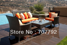 Classic Style Sofa outdoor rattan furniture sofa set