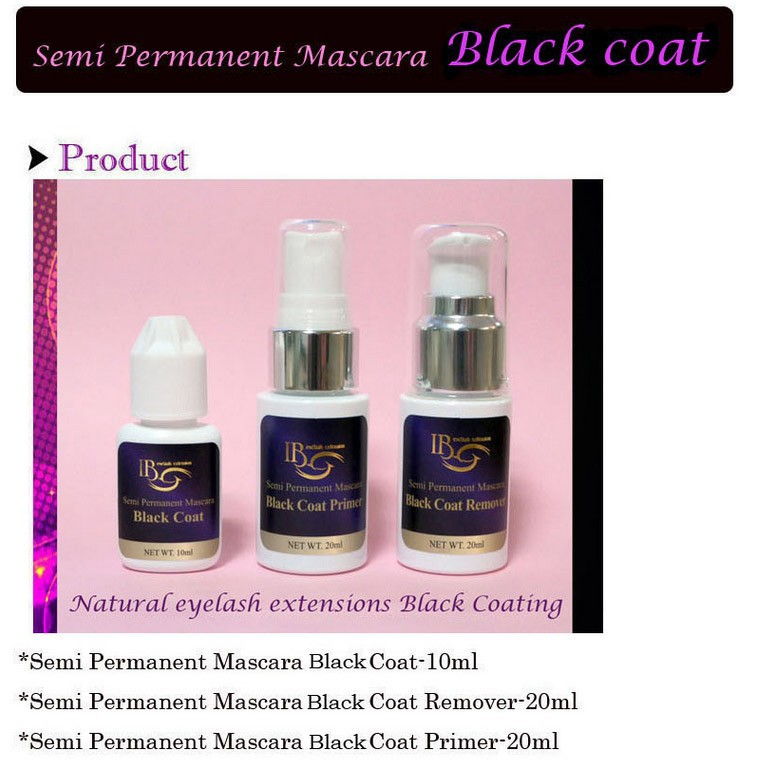 Semi Permanent Mascara Lash Coat Black Coat Primer Remover 1 Pcs/Lot  Free Shipping<br>