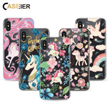 CASEIER Phone Case For iPhone 6 7 8 X 10 Luxury Silicone TPU Capa For iPhone 6 6s 7 8 10 Plus Bling Diamond Fashion Design case(China)