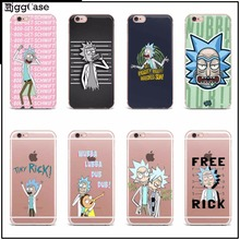 2017 New Arrivals Original Rick And Morty cover For Apple iPhone 4 4S 5 5S SE 5C 6 6S 6Plus 7 7Plus PC plastic hard Case cover