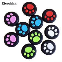 2 X Silicone Analog Controller Thumb Stick Grips Caps For PS4 Covers Thumbstick Grips for Xbox360/Xbox One/PS3/PS2 Controller