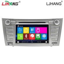 2 DIN Car radio DVD GPS Navigation For Toyota Camry 2007-2012 Head Unit Car Stereo Auto radio Multimedia Steering Wheel 3G IPOD