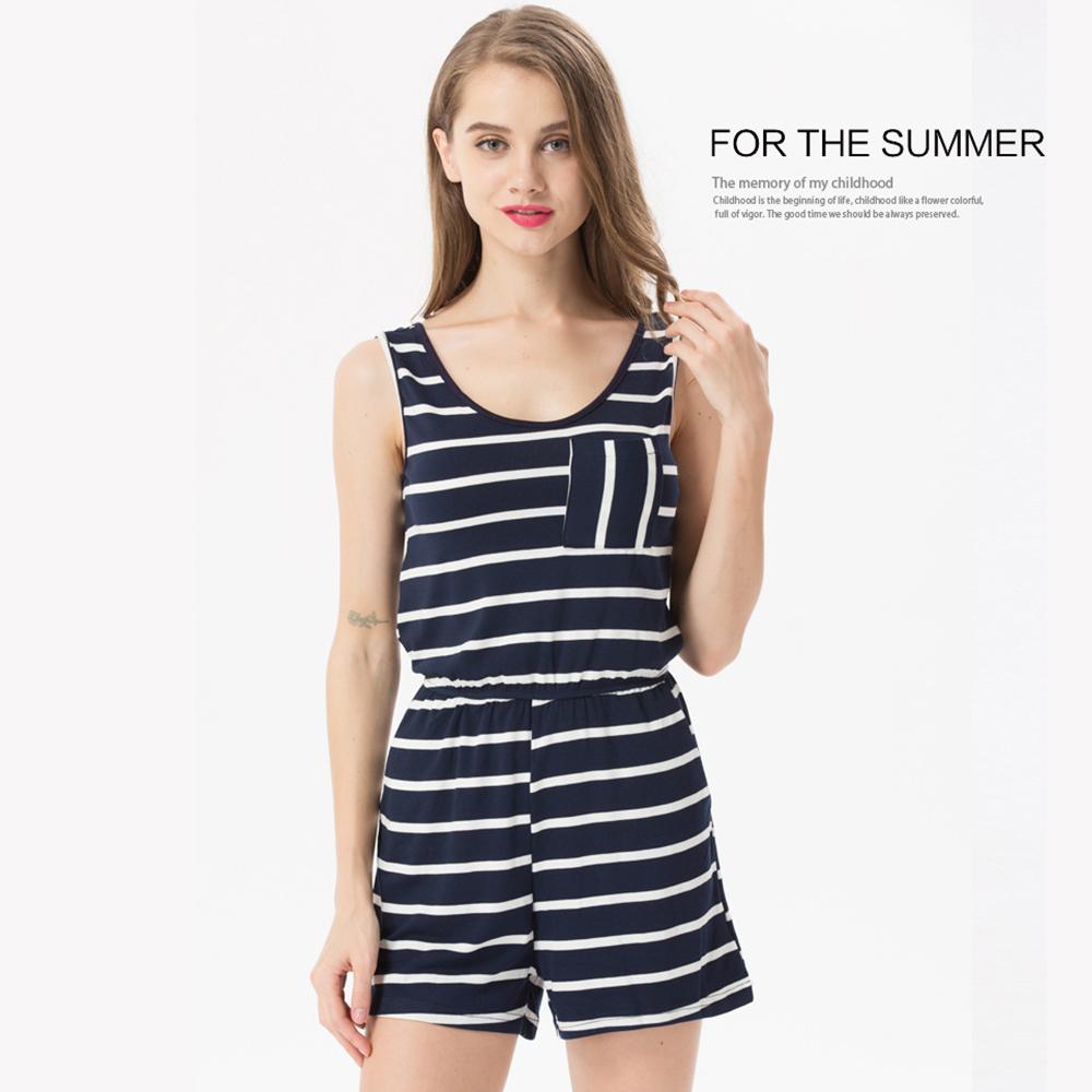 Siskakia mody młodzieżowej Letnie nastolatek dziewczyny Playsuit Przebrania paski patchwork slim fit krótkie elegancki 100% bawełna odzież różowy 10