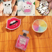 ZOEBER animation cat dog cartoon Anime Brooches bag pins for clothes brooch Batman trousers  animal funny Broche pins female