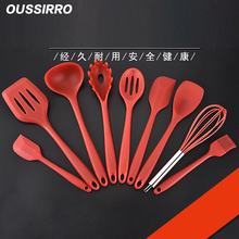 9Pcs/set Silicone Cooking Tools Drinking Kitchen Kitchenware Dinnerware Tableware Accessories Supplies Gear Stuff Product(China)