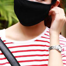 Buy Hot 1 Pc Cotton Black Health Cycling Anti-Dust Mouth Face Unisex Mouth-Muffle Face Masks Warm Winter Fashion Accessory for $1.01 in AliExpress store