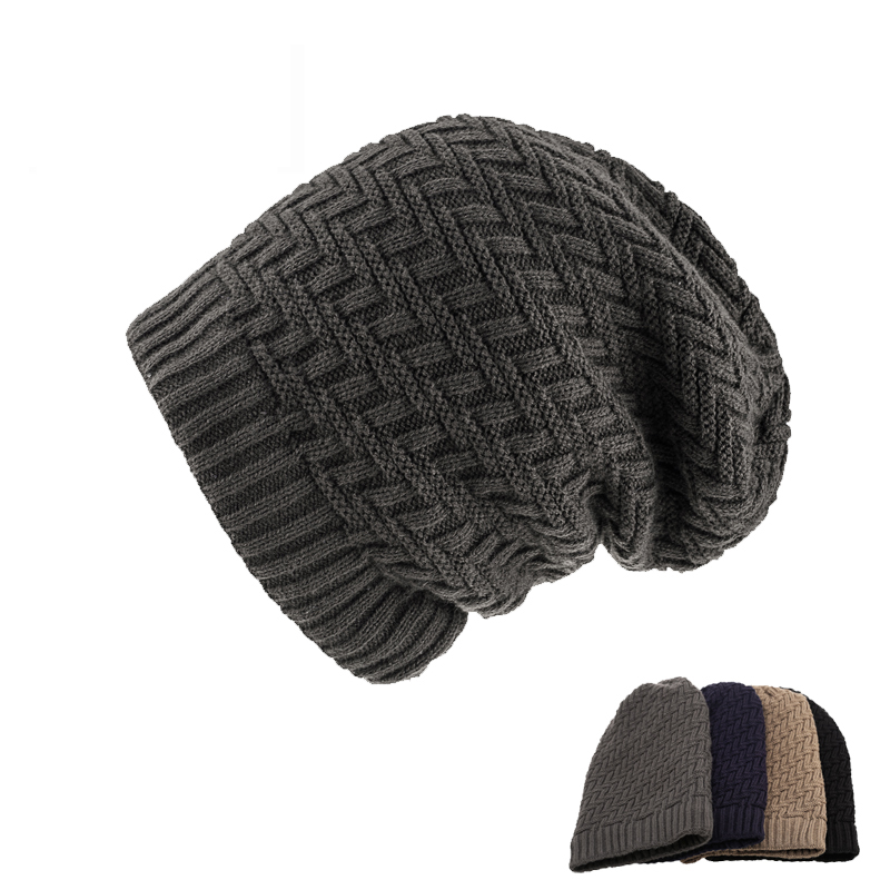 Autumn and winter new outdoor men s fashion thicker warm wool cap sets of knitted hatsÎäåæäà è àêñåññóàðû<br><br><br>Aliexpress