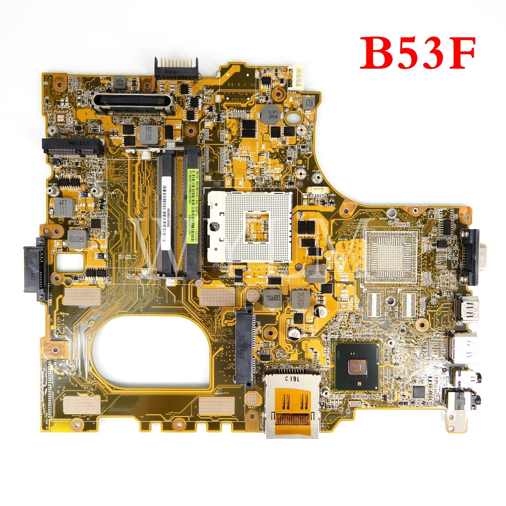 B53F motherboard For ASUS B53F B53 B53J Laptop mainboard MAIN BOARD 100% Tested Working