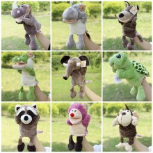 New Arrival Plush Puppet Toys Animal Hand Puppets Doll Lion Elephant Orangutans Parent-child Interactive Games Toys Best Gifts