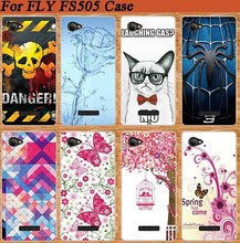 Special Pink Tree Design Case For FLY FS505 Soft TPU Cover Newest Patterns Arrival Case FOR Fly FS505 Nimbus 7 Popular Painting