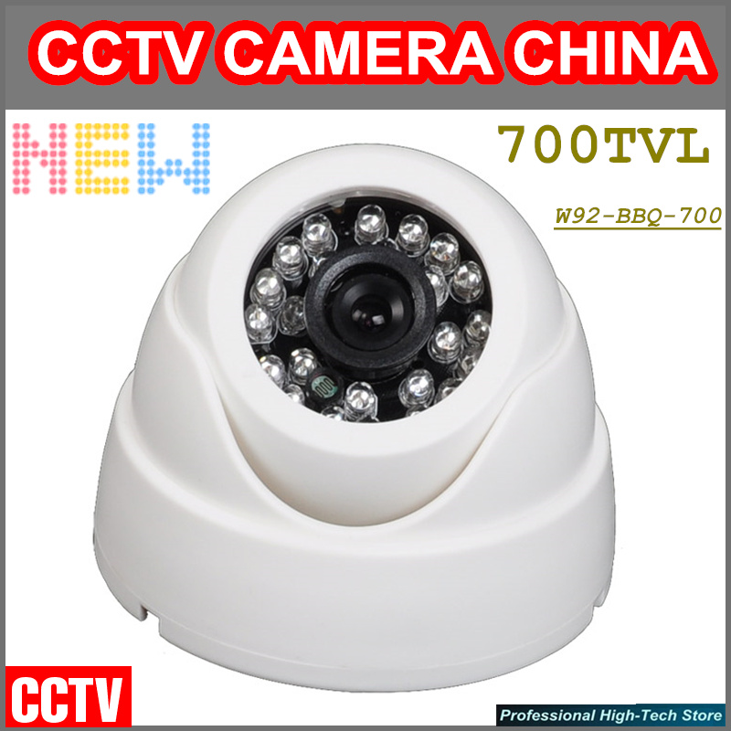 2017 New Arrival HD 700TVL CCD CCTV Camera IR Surveillance System Dome camera for Indoor/Outdoor Free shipping<br><br>Aliexpress
