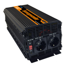 Full power 3000W solar power inverter DC 24V to AC 220V with remote(China)