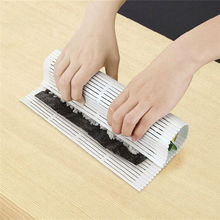 Food Grade PP Japan Design DIY Sushi Roller Market Sushi Rolling Anti-Moisture Sushi Maker Roller Mat Preparation Tools