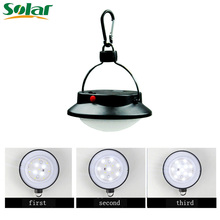 12led Solar Camp Light Outdoor Waterproof Lighting System Lights Lamp For Emergency Travel Camping Garden Or Phone Charging