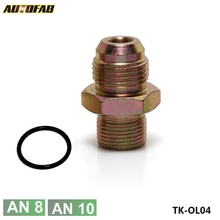 AUTOFAB- Male Flare To M20*1.5 Oil Fuel Line Pipe Thread Fitting Copper Anodized,Oil sandwich adapter fitting AF-OL04