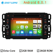 4G Android 6.0 Car DVD Player for Chevy Chevrolet Cobalt Silverado Suburban Buick Enclave Radio GPS Octa Core CPU 64-B 2GB RAM