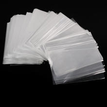 100 x Cello Plastic Gift Bags for Candy Food Snack Cookies Wedding Party Packaging Package paper Transparent Clear 12*8 cm