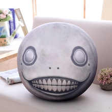 40cm Funny EMIL Plush Pillow Toy Stuffed Soft Movie TV Doll Full Head Nier:Automata Simulation Sofa Decoration Creative Gift Kid(China)