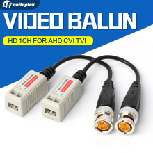 10Pairs Enhanced Video Balun Twisted BNC CCTV Video Balun Passive Transceivers UTP Balun BNC Cat5 Support HDCVI/AHD/TVI Camera(China)