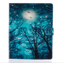 Green forest Flip Case for Apple iPad air 2 iPad mini 4 iPad 2 3 4 with ipad pro Case Stand Cover Case With Card Holder