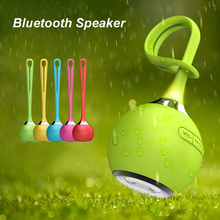 Portable Silicon Bluetooth Speaker Waterproof Mini Wireless Speaker Egg Style Shower Speaker Out Door Sports Edition Box Gift(China)