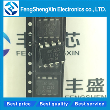 10pcs/lot       ISO1050DUBR   ISO1050DUB ISO1050  SOP8   ISOLATED CAN TRANSCEIVER  IC chip