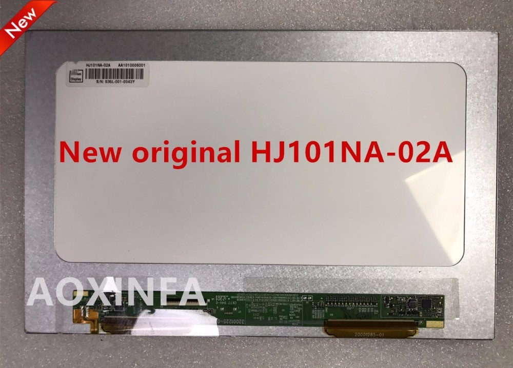 Original and New 10.1inch TFT LCD Display Screen HJ101NA-02A HJ101NA 1280(RGB)*800 WXGA 32001225-01 free shipping<br>