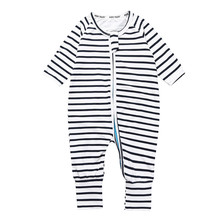 Baby clothing Rompers Foot Cover Baby Girl's Pajamas Romper Newborn Feet Cover Sleepwear Body suits One-piece DBR0104(China)