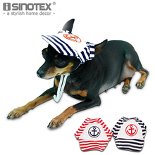 Navy Blue Pet Dog Hats Dogs Sports Sun Hats Pet Supplies Breathable Baseball Dog Caps Cat Dog Accessories 1PCS/Lot