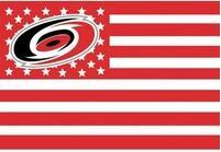 90x150cm Carolina Hurricanes USA star stripe NHL Premium Team Hockey Flag 3X5FT free shipping(China)
