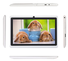 7 inch tablet pc wifi bluetooth OTG  512+8GB Dual camera support Google market ANDROID4.4  Suitable for gift Tab pc