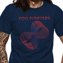 Design T Shirts Casual Cool Gildan Crew Neck 100% Cotton Short Sleeve Foo Fighters Loops Logo Mens Tee