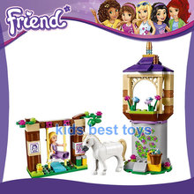 Princess Toys Rapunzel's Best Day Ever DIY Building Toys Girls Gift Compatible 41065(China)