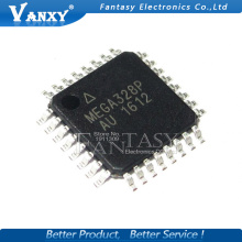 10PCS ATMEGA328P-AU QFP ATMEGA328-AU TQFP ATMEGA328P MEGA328-AU SMD new and original IC free shipping