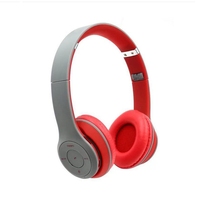 Headphone Overhead Wireless Bluetooth Earphone Stereo Noise Reduction Headset Earpods Support SD Card For MP3 Smartphone<br><br>Aliexpress