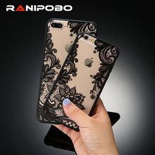 Buy New Arrival Sexy Lace Soft Case Retro Vintage Floral Flower Printed iPhone 7 7plus 6 6S 6Plus 5 5S Fashion Phone Cases Cover for $1.28 in AliExpress store