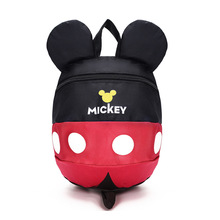 Cartoon style school bag cute Minnie and Mickey drawstring cute backpack children schoolbags for girls kindergarten bag