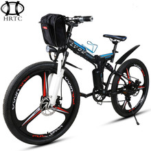 26inch electric bike 48V lithium battery electric folding cross country mountain bike portable power scooter battery ebike 3spok