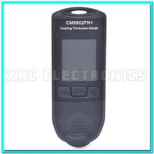 Retail Package Free Shipping New FILM Coating Thickness Gauge Paint Meter Tester CM8802FN 0-1250um 50mil F/NF 2 in 1 Color LCD