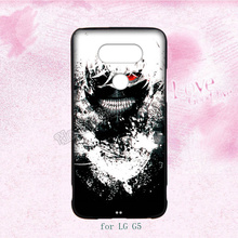 fashion anime tokyo ghoul hard transparent plastic cell phone cases for LG G2 G3 G4 G5 cover case(China)