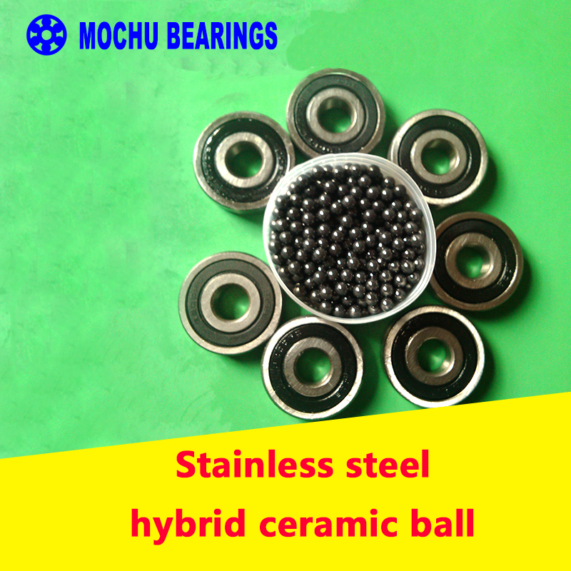 Free shipping 1PCS 627 627-2RS 7x22x7 Stainless steel hybrid ceramic ball bearings 440C Si3N4 Ceramic ball<br><br>Aliexpress