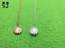 10PCS- N025 Cute Seashell Necklace Animal Conch Sea Shell Necklaces Nautical Scallop Necklaces for Women Ocean Beach Party