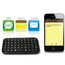 Mini Bluetooth Keyboard For iPad iPhone Sony Z1 Z2 Z3 Z4 windows tablets android devices Samsung note2 note 3 4 s3 s4 s5(China)