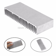 1Pc Radiator Aluminum Heatsink Extruded Profile Heat Sink for Electronic Chipset Z09 Drop ship(China)