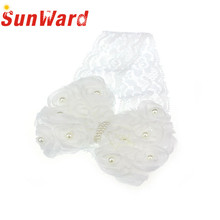 Pearl Headband Bow Lace Flower hair accessories Girl headband cute hair band newborn floral headband H20 Drop Shipping