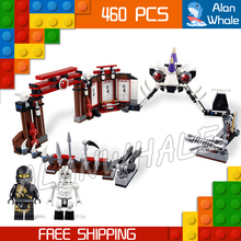 46Bela New 9733 Ninja Battle Arena Building Blocks Model Toys Jay Cole boys Bricks Compatible lego - Last Canvas store