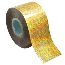 120m*4cm Holographic Nail Foil Rainbow Transfer Foil Sticker Finger Wraps Nail Art DIY Adhesive Manicure Beauty Decals WY306(China)