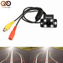 Auto Parking Assistance 6 Lens 170 Degree HD CCD Intelligent Reversing Trajectory Tracks Rear View Camera Reverse Backup Camera