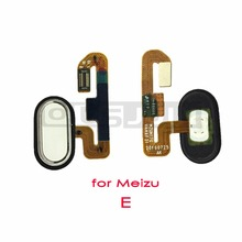 1pcs for Meizu M3E Meilan M3 E Home key home return Button Back Key With Flex Cable Fingerprint Sensor