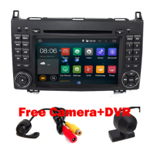 Hot Sell Quad Core 1024*600 Android 5.1 Car Radio DVD GPS for Mercedes/benz B200 W169 A160 Viano Vito GPS NAVI RADIO BT wifi
